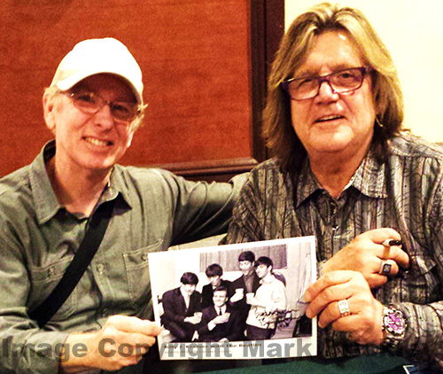 Billy J. Kramer with Author at Beatles Fest 2014