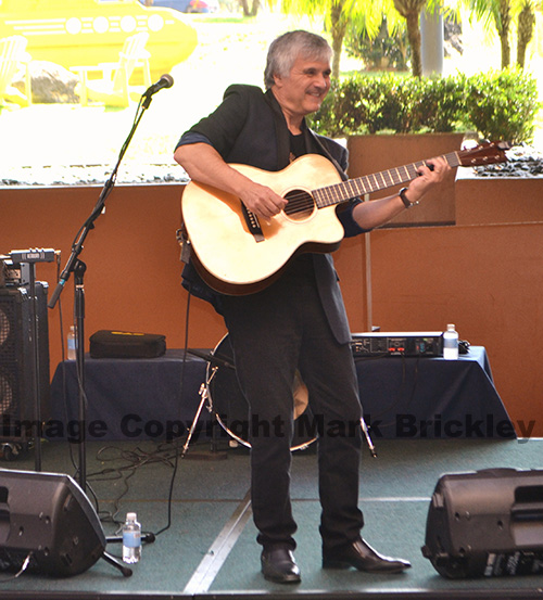 Former Wings guitarist Laurence Juber.